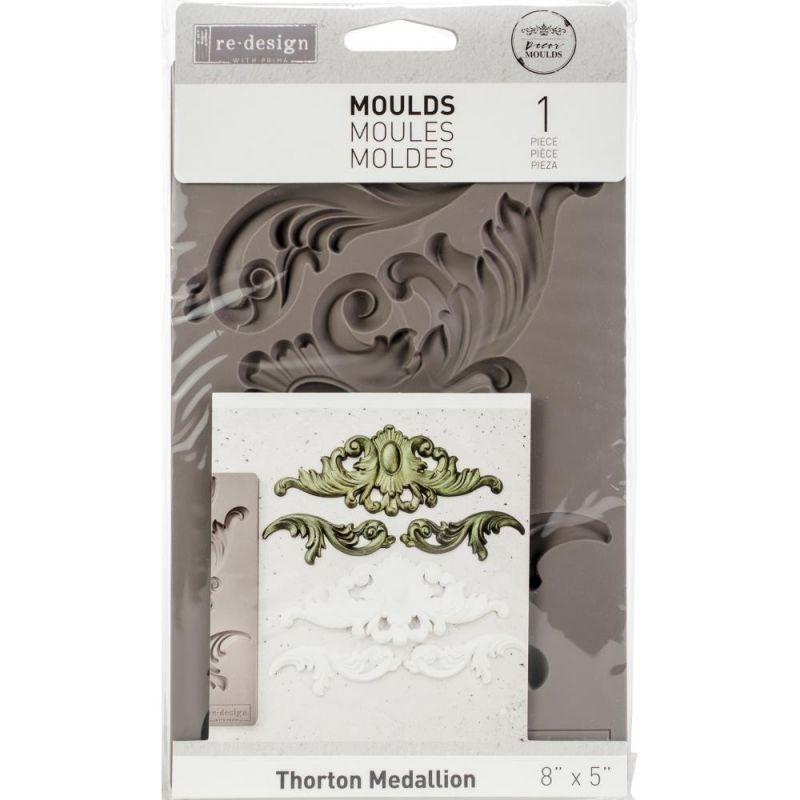Szilikon öntőforma - Redesign Decor Mould - Thorton Medallion