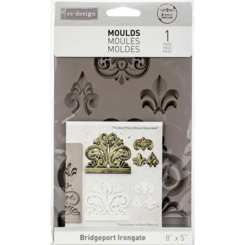 Szilikon öntőforma - Redesign Decor Mould - Bridgeport Irongate