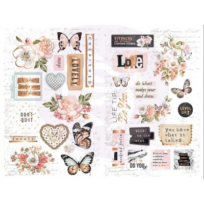 Apricot Honey Chipboard