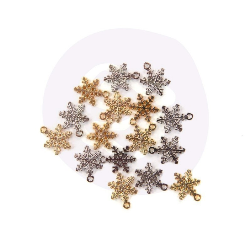 Christmas in the Country - Snowflake charms