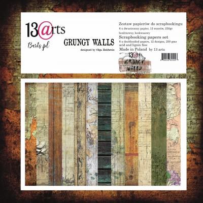 """Grungy walls 6x6""""-os kollekció"""