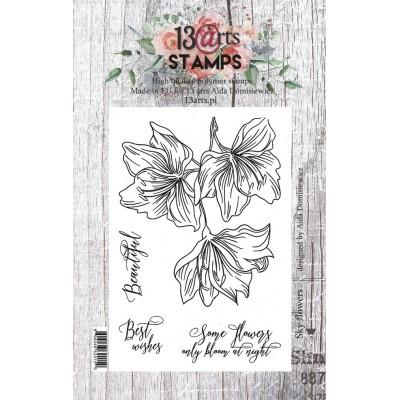 Sky flowers - A7-es bélyegző