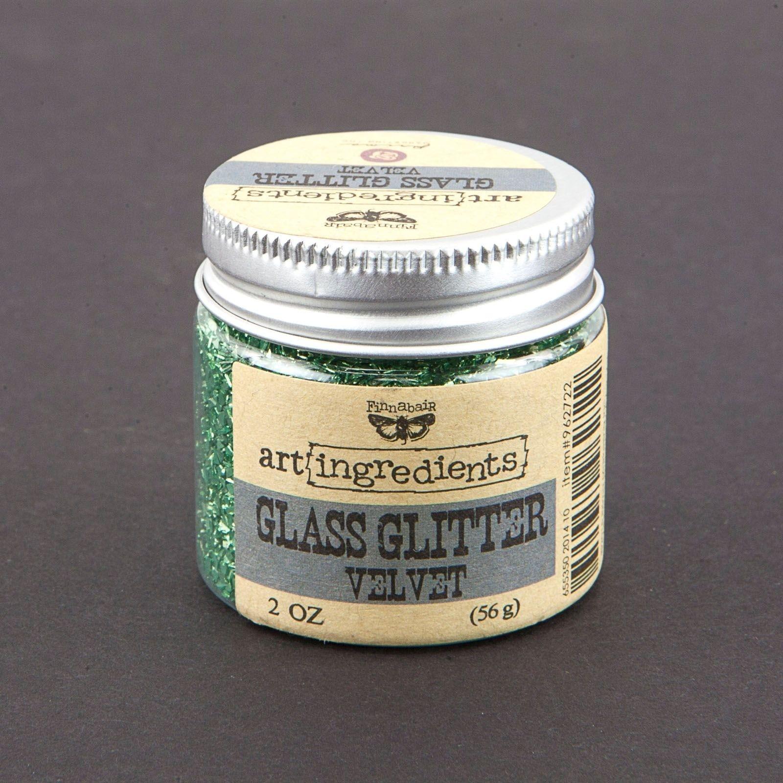 Finnabair - Art ingredients glass glitter velvet