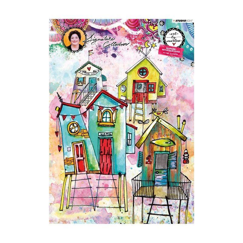 Art by Marlene akvarell papír szett - 20 db A4-es