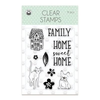 We Are Family - polimer bélyegző 01 (9,6 x 6,7cm)