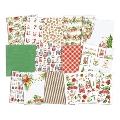 """Christmas Treats - 6""""-es kollekció (24 db 2 oldalas papír + 2 db kivágóív)"""
