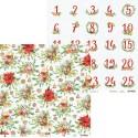 Christmas Treats adventi számok kivágóív