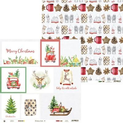 Christmas Treats kártyák kivágóív