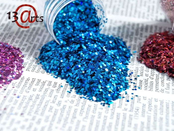 Ayeeda Hologram Csillám - Kék