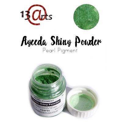 Ayeeda Selyempor - Csillámló Zöld