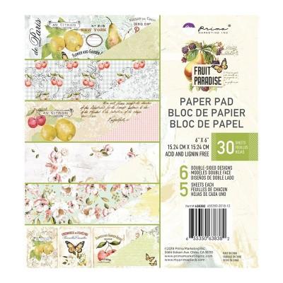Fruit Paradise 6x6-es papírkészlet