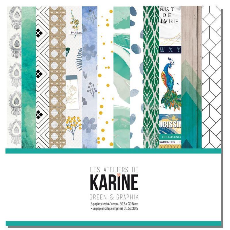 """Green and Graphic 12""""-es kollekció"""