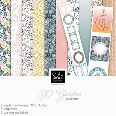 """SO Garden 12""""-es papírkollekció"""