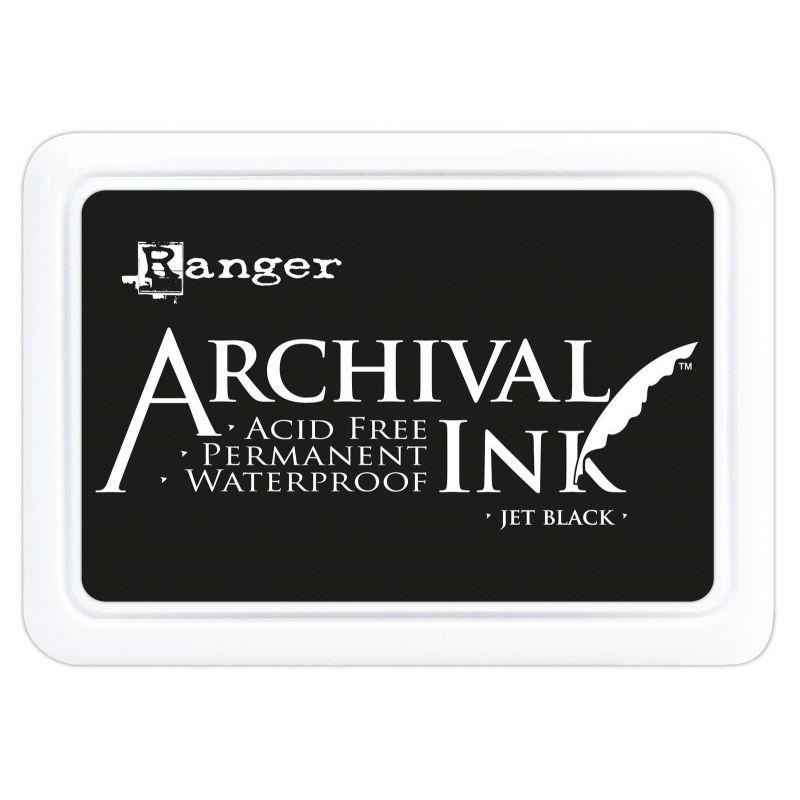 Archival Ink Pad - Jet Black tintapárna