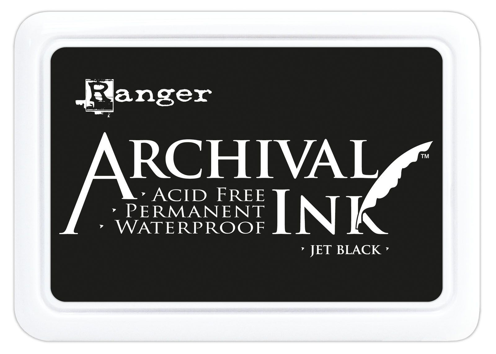 Archival Ink Pad - Jet Black tintapárna