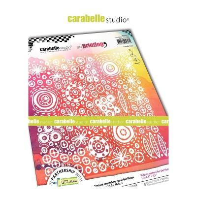 Carabelle Art Printing textúra lemez Gel Press laphoz - Doodle Bug