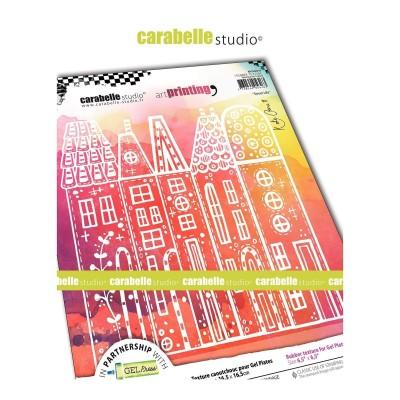 Carabelle Art Printing textúra lemez Gel Press laphoz - Street Life
