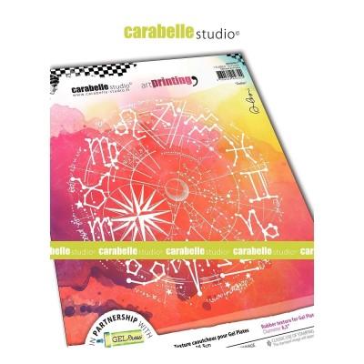 Carabelle Art Printing textúra lemez Gel Press laphoz - Zodiac