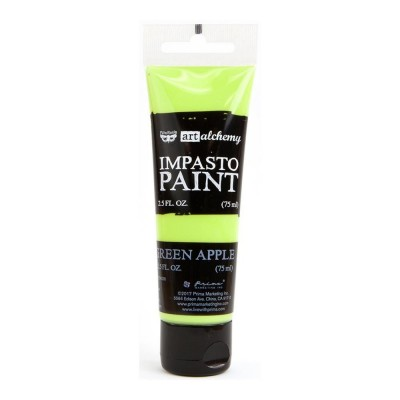 Finnabair - Art Alchemy - Impasto Paint - Green Apple