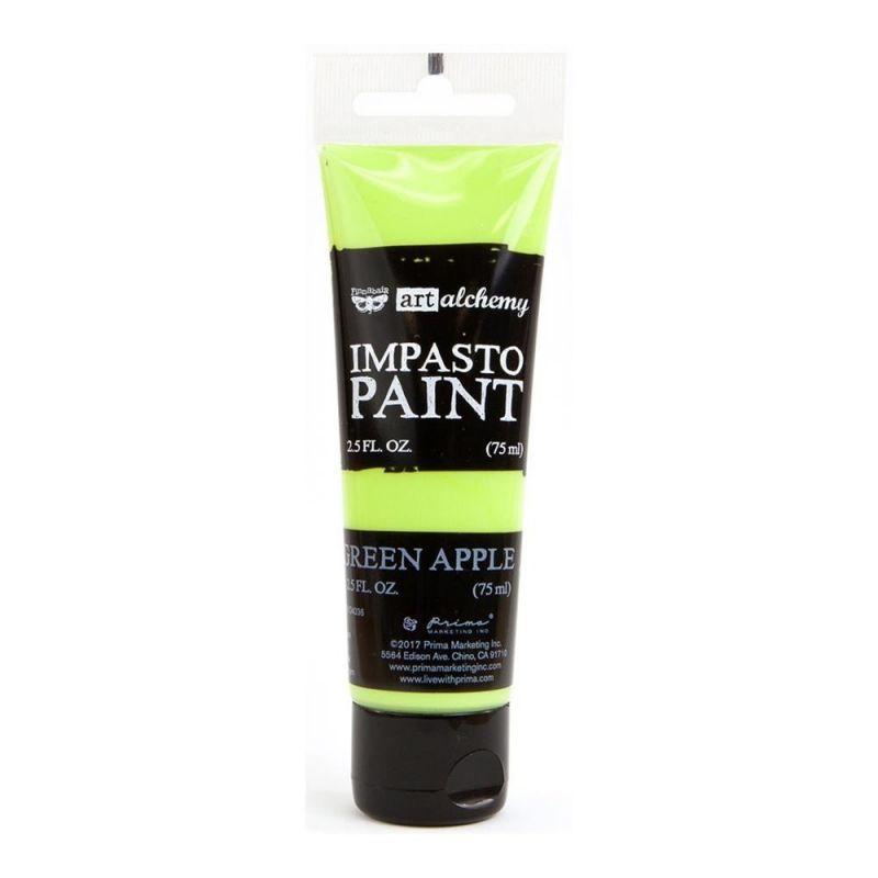 Finnabair - Art Alchemy - Impasto Paint - Green Apple