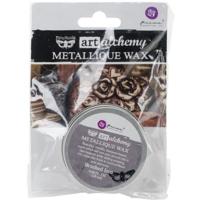 Finnabair - Art Alchemy - Metallique Wax - Brush Iron