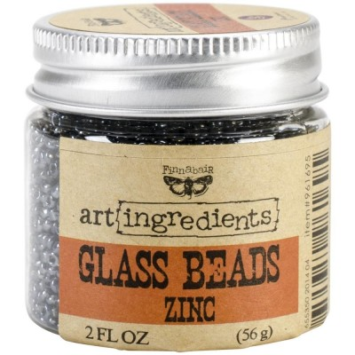 Finnabair - Art Ingredients - Glass Beads - Zinc