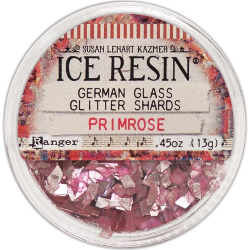Ice Resin Glass Glitter Shards - Primrose üvegtörmelék