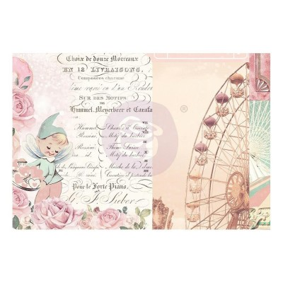 Prima Marketing - Dulce kollekció - 4X6 Journaling Cards