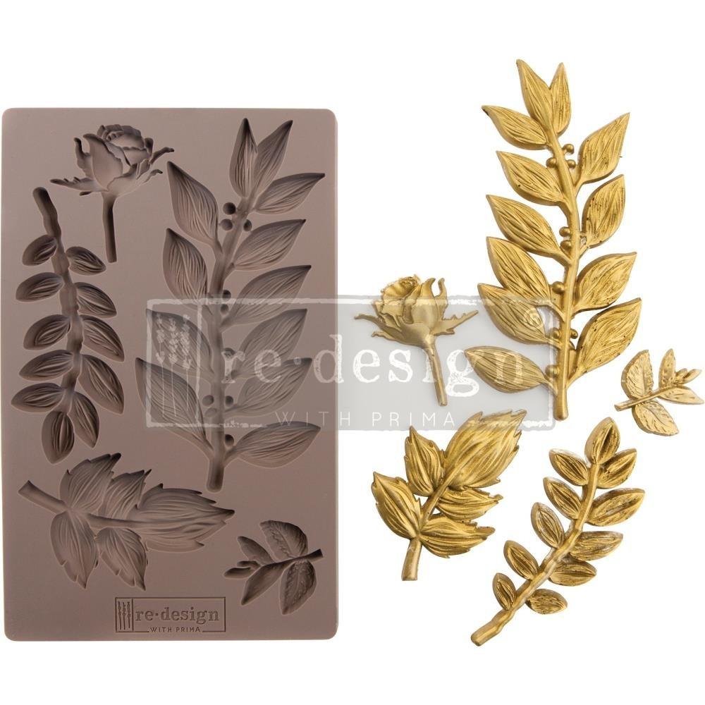 Szilikon öntőforma - Redesign Mould - Leafy Blossom