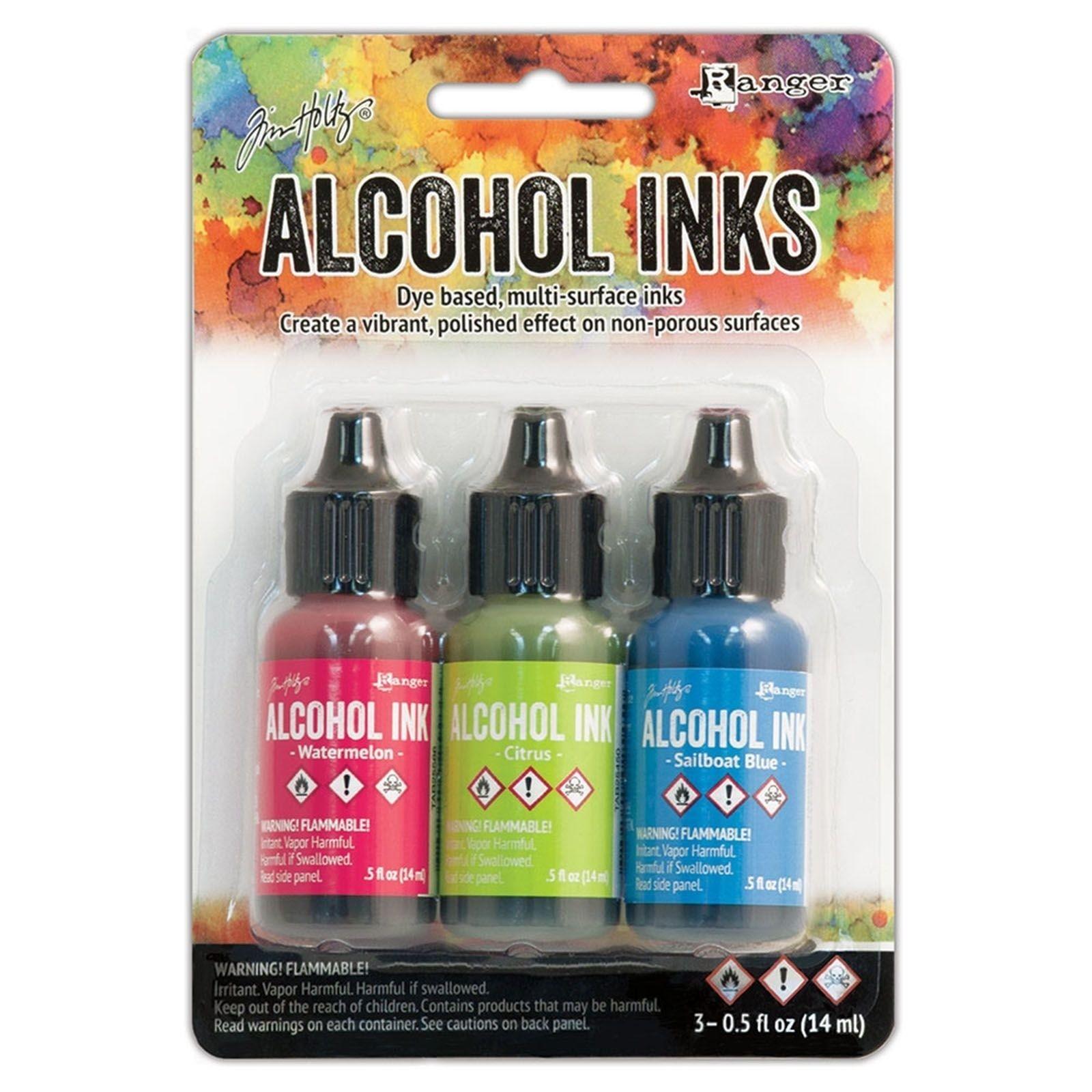 Tim Holtz Alcohol Ink - alkoholos tinta szett - Docside Picnic