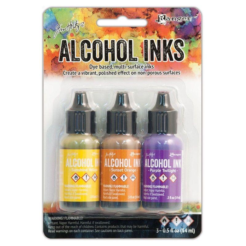 Tim Holtz Alcohol Ink - alkoholos tinta szett - Summit View