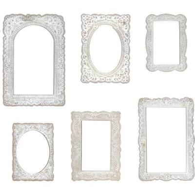 Tim Holtz Idea-Ology Baseboard Frames keretek (6 db)