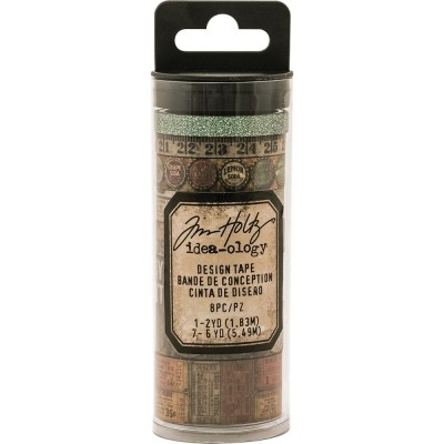 Tim Holtz Idea-Ology Design Tape dekortapasz (8 db)