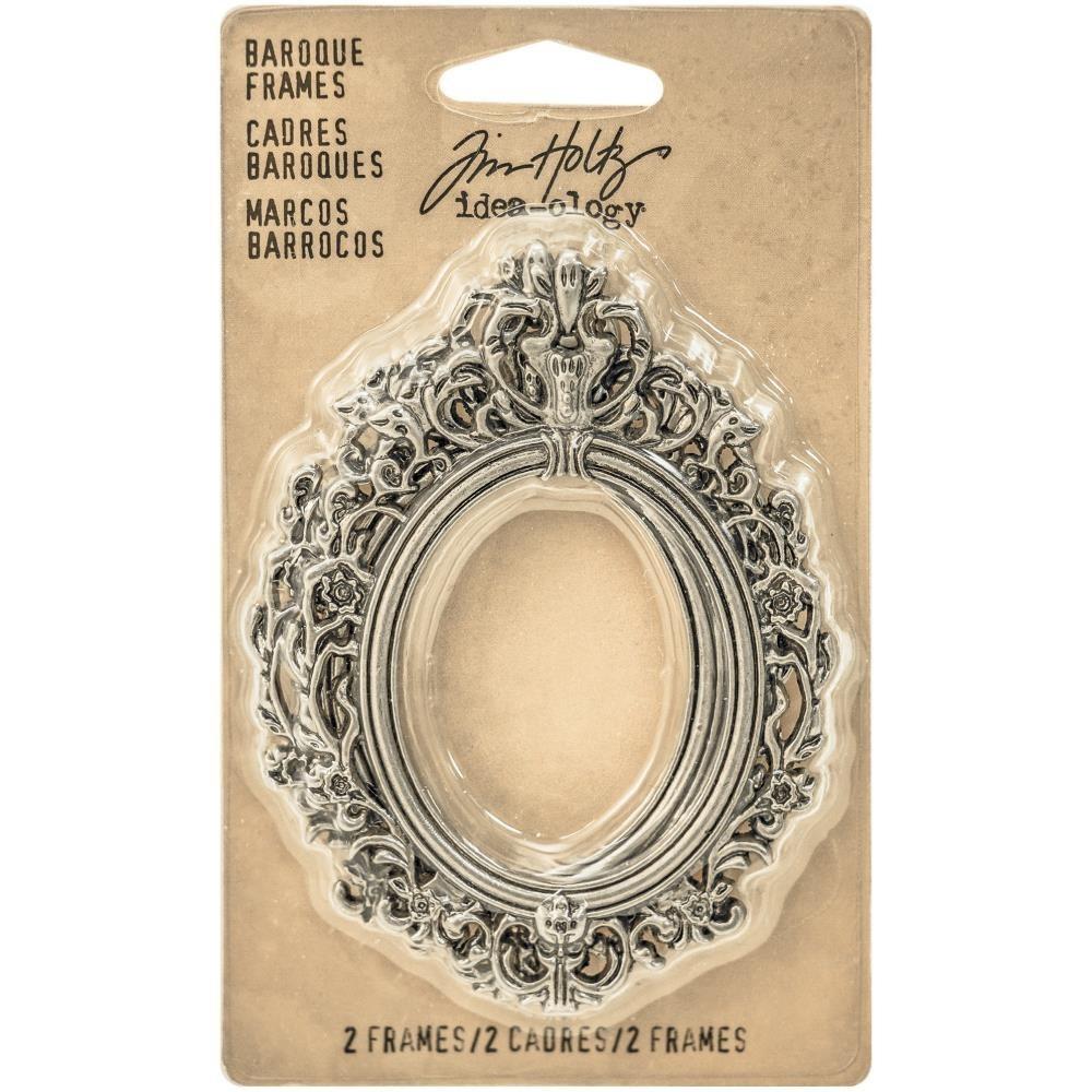 Tim Holtz Idea-Ology Metal Baroque Frames (2 db)