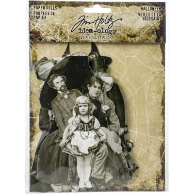 Tim Holtz Idea-Ology Paper Dolls kivágatok (23 db)