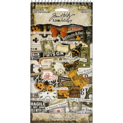 Tim Holtz Idea-Ology Sticker Book matrica szett