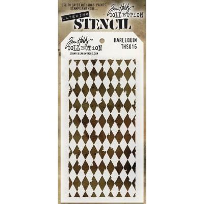 Tim Holtz Stencil - Harlequin