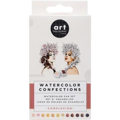 Watercolor Confections - Complexion - vízfesték szett 12 szín