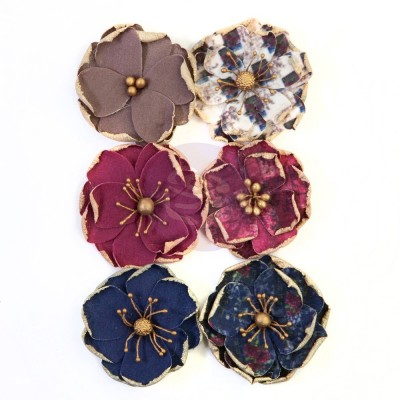 Prima Flowers® Darcelle kollekció - Worn Elements - papírvirág