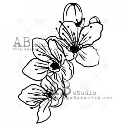 Gumibélyegző ID-497 flower