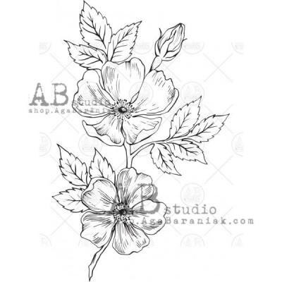 """Gumibélyegző ID-527 """"flower"""""""