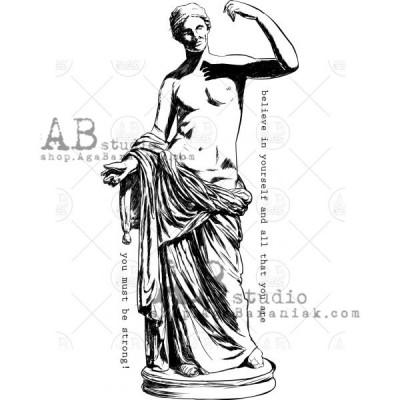 """Gumibélyegző ID-546 """"Greek sculpture"""""""