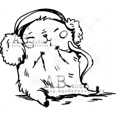 """Gumibélyegző ID-567 """"Christmas mischief"""""""