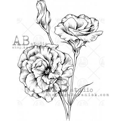"""Gumibélyegző ID-598 """"flowers"""""""