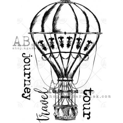 """Gumibélyegző ID-319 """"vintage balloon"""""""