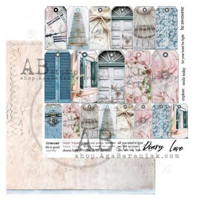 Shabby Love Symphony Sheet 4 kivágóv