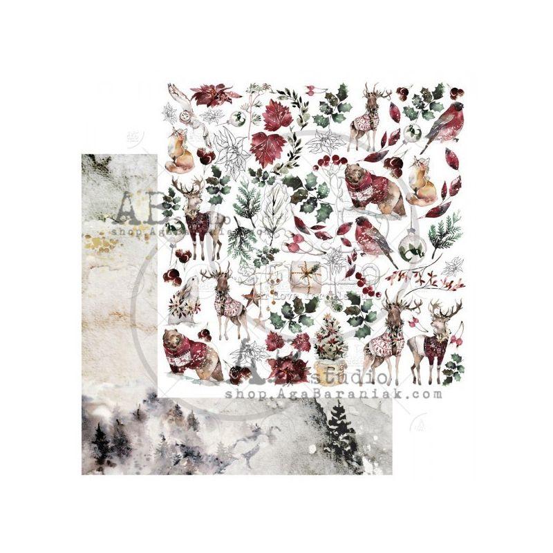 Breeze of Forest Sheet 3 kivágóv