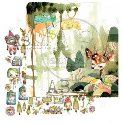 "Magic whispers of fairytales 12""-es kollekció"