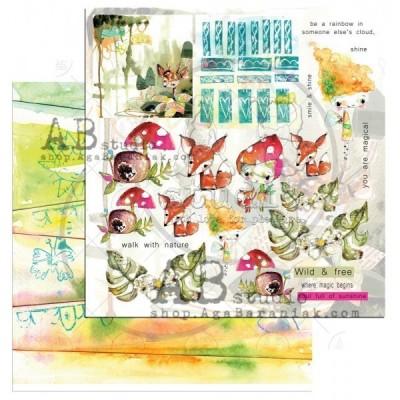Magic Whyspers of Fairytale Sheet 6 kivágóv