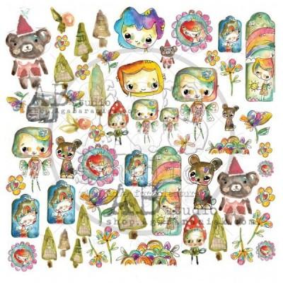Magic Whyspers of Fairytale Sheet 1 kivágóv
